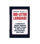 Picture of Red-Letter Language