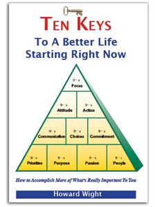 Picture of NEW Book! Ten Keys to a Better Life Starting Right Now